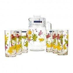 LUMINARC CRAZY FLOWERS Набор для напитков 7 пр. N0802