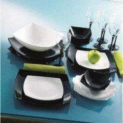 Luminarc Quadrato Black White Сервіз столовий-19+6пр C8105