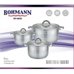 BOHMANN Набор посуды 6 предметов BH 0620