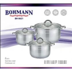 BOHMANN Набор посуды 6 предметов BH 0621
