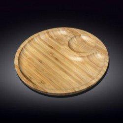 Wilmax.Bamboo.Блюдо кругле 25см-2секції WL-771043