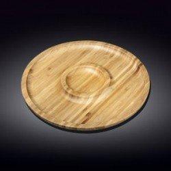 Wilmax.Bamboo.Блюдо кругле 25см-2секції WL-771047