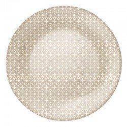 Bormioli Rocco Ceramic beige Тарелка подставная 27 см. - 430133FP2121932