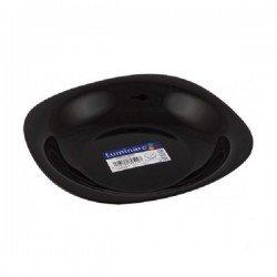 LUMINARC CARINE BLACK Тарелка суповая 21см. H3661
