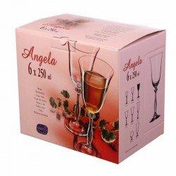 BOHEMIA Angela Бокал вино набор 6х 250мл b40600/250