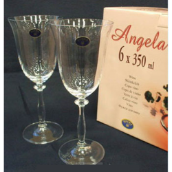 BOHEMIA Angela Бокал вино набор 6х350мл  b40600/350