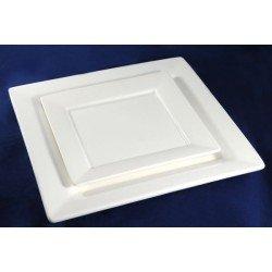 ALTEZORO Квадратная тарелка с бортом 27 см SS0526