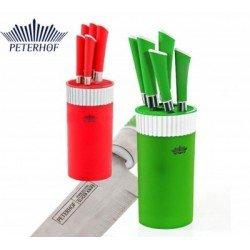 Peterhof Набор ножей 6 пр с подставкой PH22373