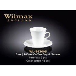 Wilmax Чашка кавова&блюдце 110мл WL-993005