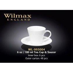 Wilmax Чашка чайна&блюдце 180мл WL-993004