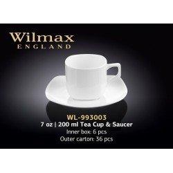 Wilmax Чашка чайна&блюдце 200мл WL-993003