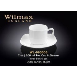 Wilmax Набір чайний(чашка 200мл-2шт,блюдце-2шт)-4пр Color WL-993003/2C