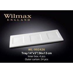 Wilmax Таця 36х13см WL-992426
