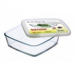 SIMAX Color Classic Форма жаропрочная с крышкой 210х210х65мм. s7466/L