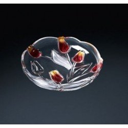 Walther-Glas Nadinе Satin-Red-Gold Набор тарелок 3х180мм    w6141