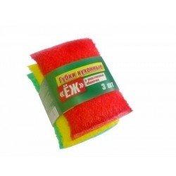 Hasiba Group Ежик Губка для мытья набор 3 шт. 100045