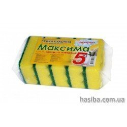 Hasiba Group Максима Губка пеноефект набор 5 шт.100182