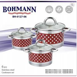 BOHMANN Набор посуды 6 предметов BH 0127-6