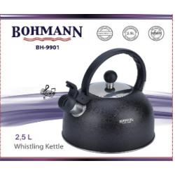 BOHMANN Чайник свисток 2,5 Liter - BH 9901