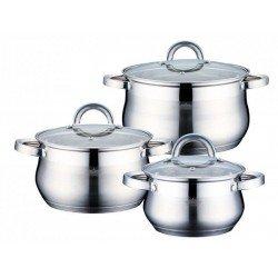 BOHMANN Набор посуды 6pcs.20,22,24 cm. PH15237