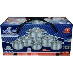BOHMANN Набор посуды 12 предметов BH1212 PS