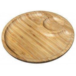 Wilmax.Bamboo.Блюдо кругле 35,5см-2секції WL-771045