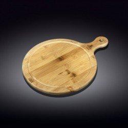 Wilmax.Bamboo.Блюдо кругле сервіровочне з-руч. 14,5х10см WL-771093