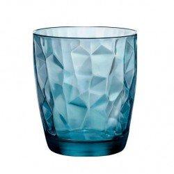 BORMIOLI ROCCO Diamond Ocean Blue  Стакан виски 390мл. - 302259M02321990