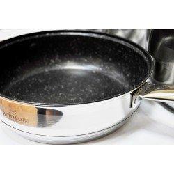 BOHMANN  Cковорода с крышкой антиприг. покр. 2,9л  24см - BH-1235-24