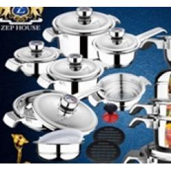 ZEPTER Набор посуды 17 предметов ZH 1900