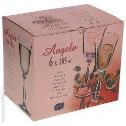 Bohemia Angela Бокал вино набор 6 х185мл. b40600/185