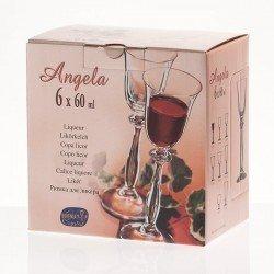 Bohemia Angela Рюмка 60 мл, 6 шт. набор 40600/060