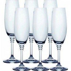 BOHEMIA Olivia Бокал шампанское 6шт. 40346/190