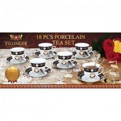 ZILLINGER, Сервиз чайный 18 пр ZL-741B