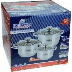 BOHMANN Набор посуды 2,9 L.3,9 L.5,1 L BH06275
