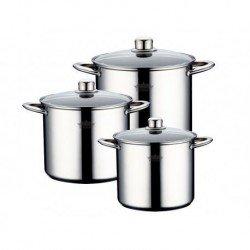 PETERHOF Набор посуды 6 предметов 7,5, 9,5, 12 л. PH1546 S