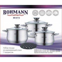BOHMANN Набор посуды 7 предметов BH 0113