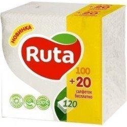 RUTA Салфетки упаковка 120шт. 24х24 Ruta 3