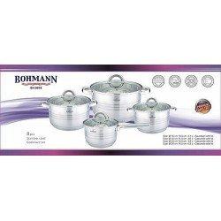 BOHMANN Набор посуды 8 пред. 16/18/20/24 cm. BH 0918