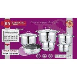 PETERHOF Rainstahl Набор посуды 12 предметов RS 1855-12