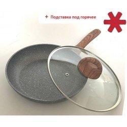 VISSNER Сковородка с крыш+подставка 26cm. VS 7533-26