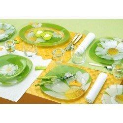 Luminarc Paquerette Green Сервиз столовый-19пр G8909